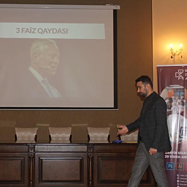 """Cavid Abasov - """"İş adamından öyrən 3"""" layihəsindəki çıxışdan"""