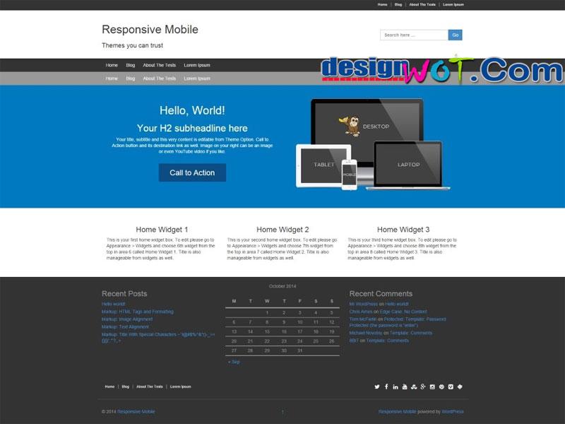 Responsive Mobile