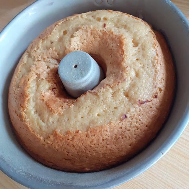 bolo de frutos silvestres, world baking day