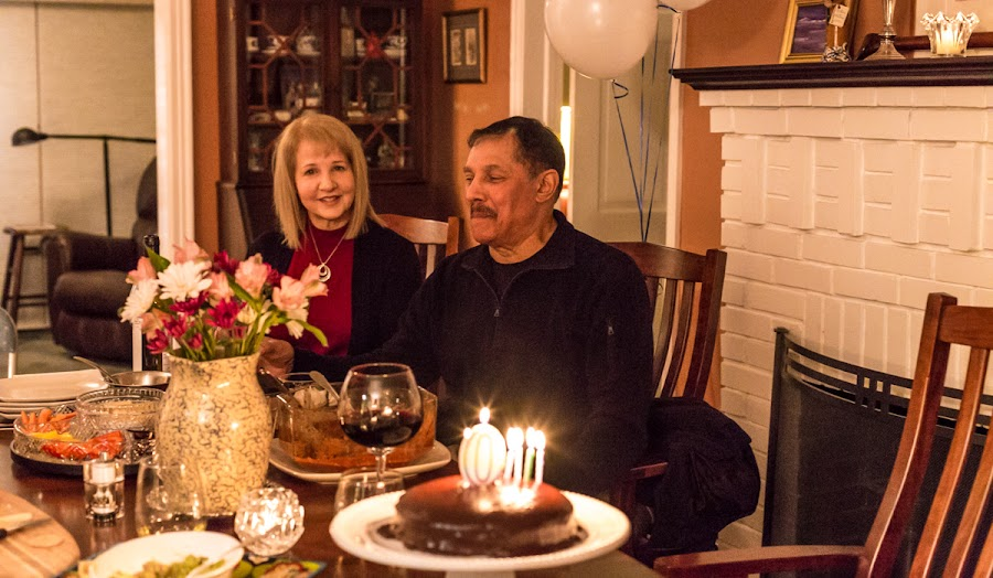 A milestone birthday
