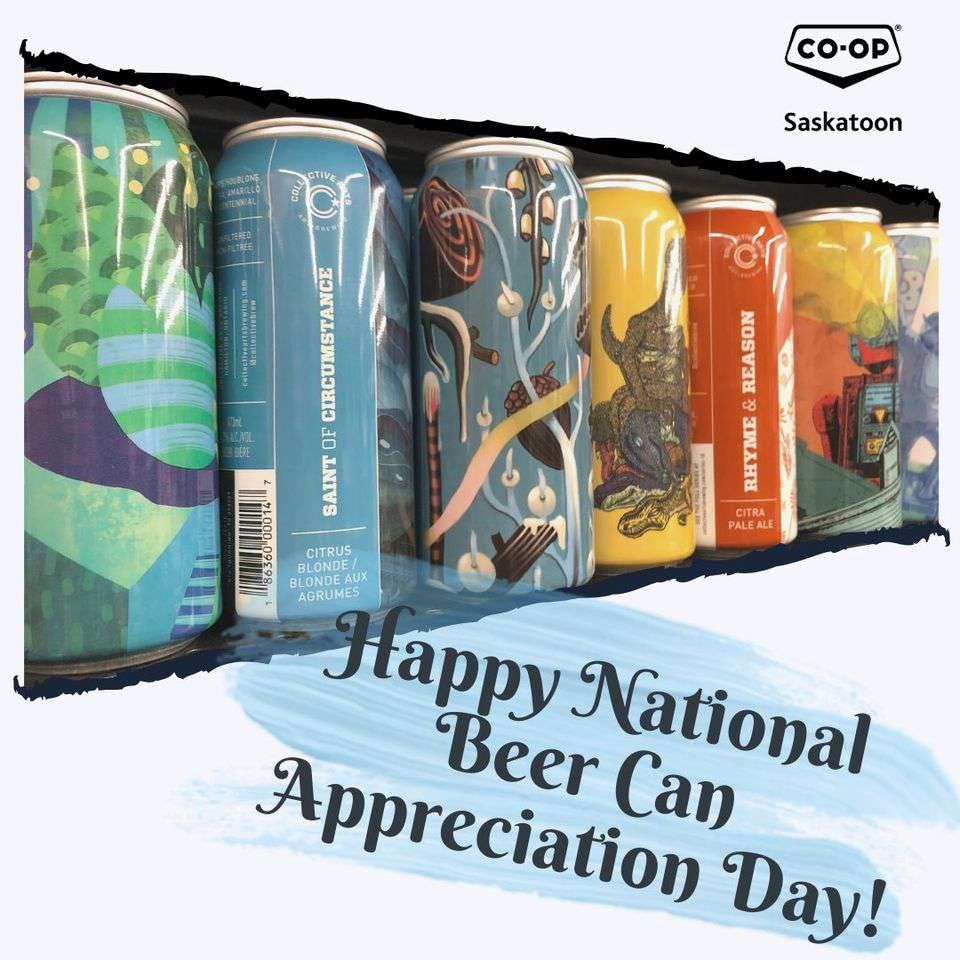 National Beer Can Appreciation Day Wishes for Instagram