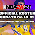 NBA 2K21 OFFICIAL ROSTER UPDATE 04.10.21 LATEST TRANSACTIONS+UPDATED LINEUPS