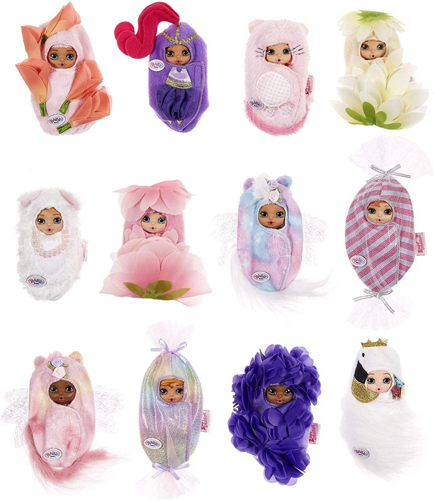 Очаровательный сюрприз Беби Борн серия 4 Surprise Garden Blooming Babies