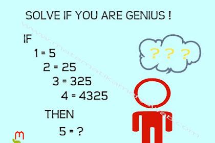 Pecahkan Teka-Teki Matematika Ini Jika Kamu Jenius #2
