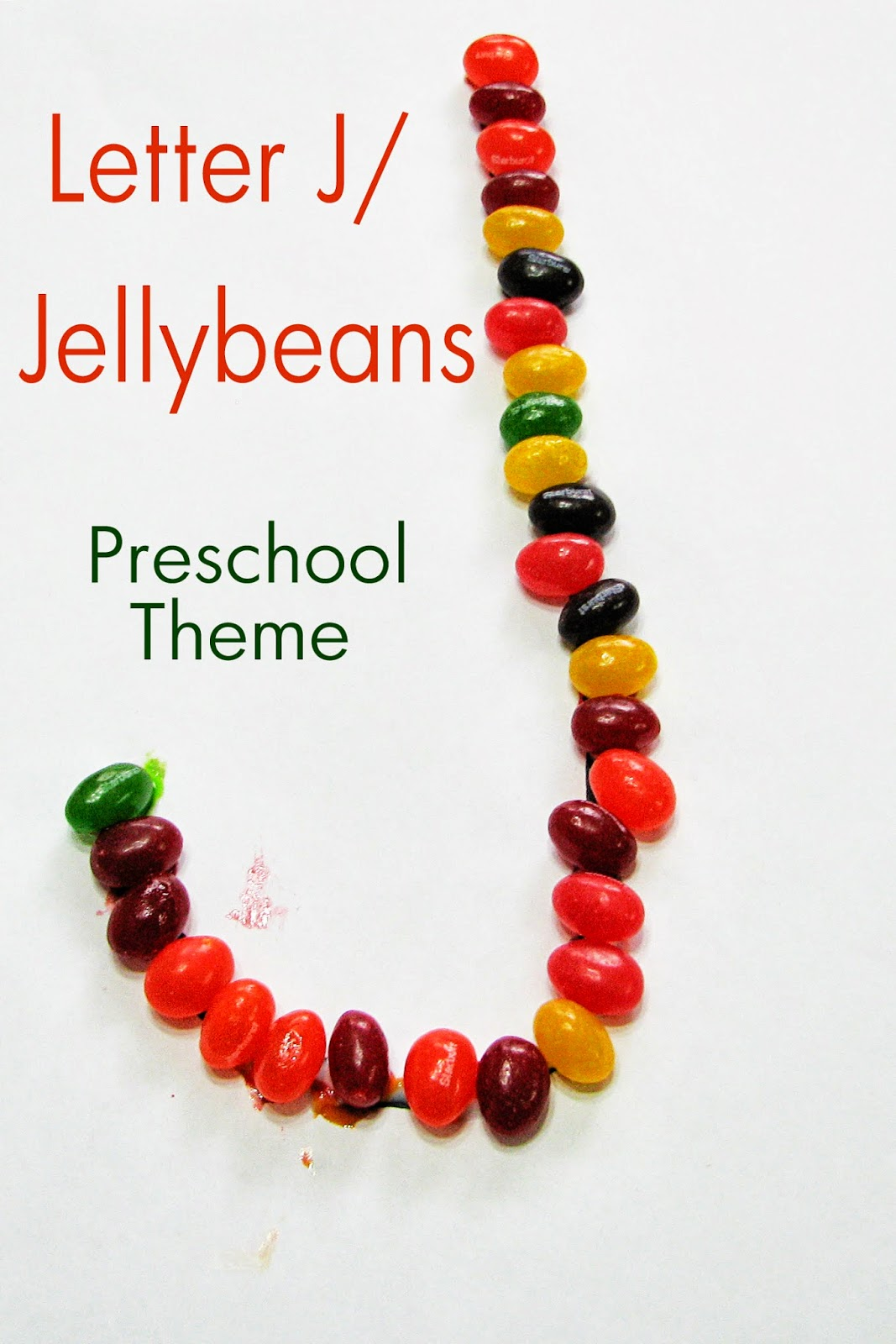 Mommy S Little Helper Letter J Jellybeans Preschool Theme