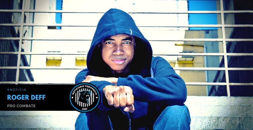 "O rapper mineiro Roger Deff vai lançar remix de sua música ""Pro Combate"""