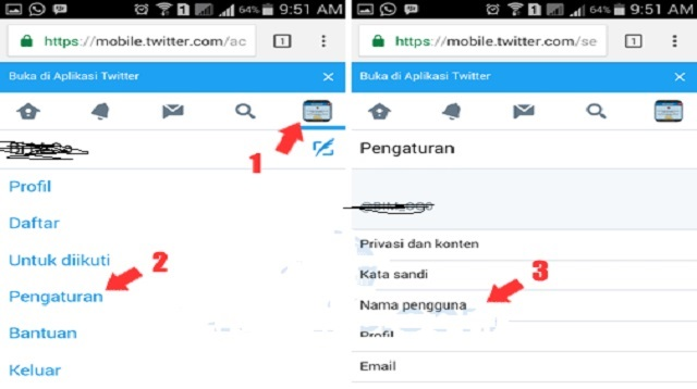 Cara Mengganti Username Twitter