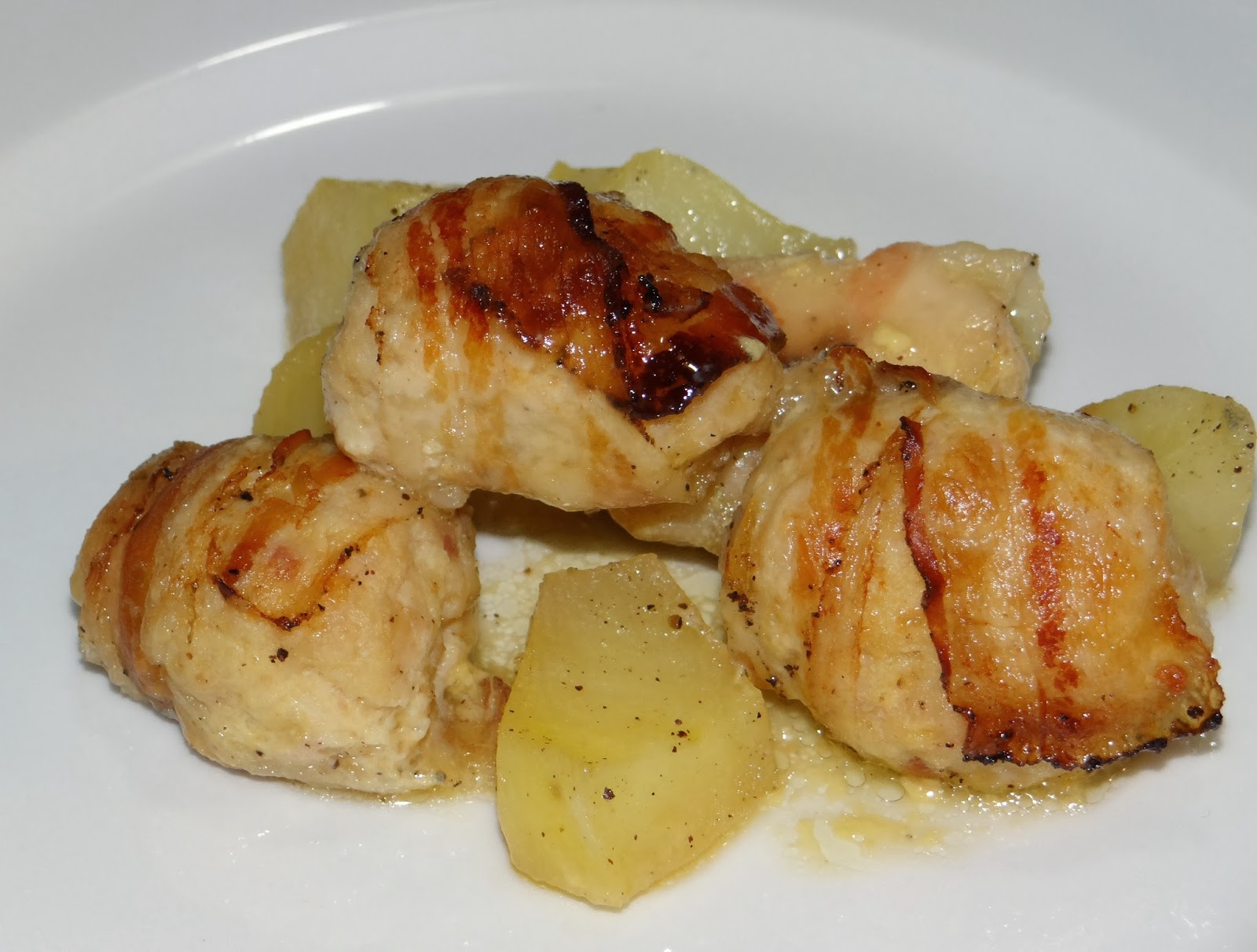 L 39 arzdour ina quenelle di tacchino e pancetta - Un angelo alla mia tavola ...