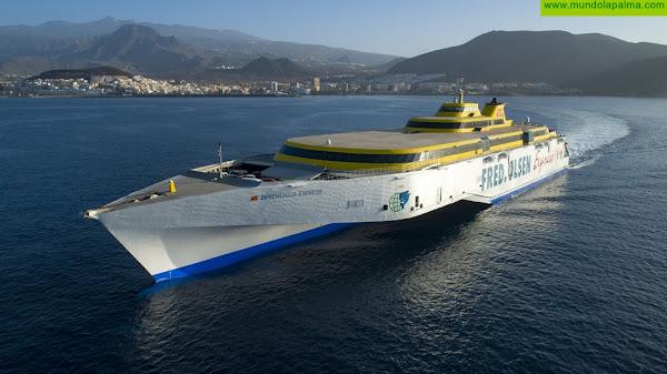 Fred. Olsen Express retoma la ruta directa entre La Palma y Tenerife a partir del 31 de mayo
