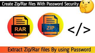 Zip & Rar file