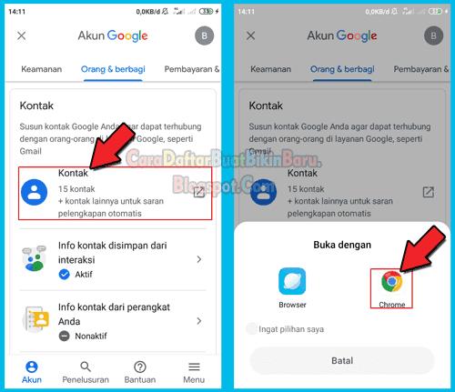 Gimana Cara Melihat Kontak Telepon Yang Tersimpan Di Akun Google Cara Daftar Buat Bikin Baru