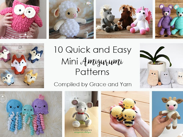 10 Quick and Easy Mini Amigurumi Patterns