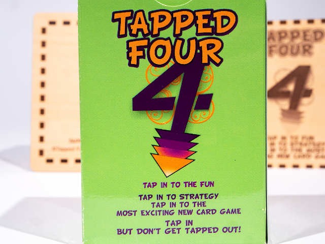 "Tapped Four is a Strategic & Addictive Card Game. Entertainment for the whole family. ""Tap In, but don't get Tapped Out!"""