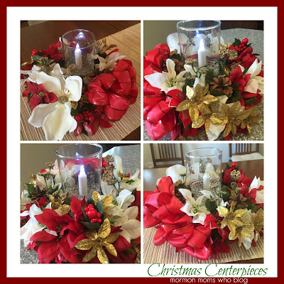 Dollar Store Christmas Centerpieces; Beautiful