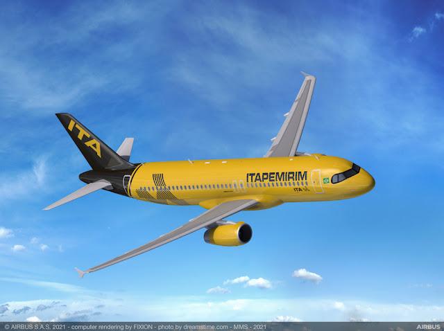 Itapemirim Transportes Aéreos recebeu sua segunda aeronave | É MAIS QUE VOAR