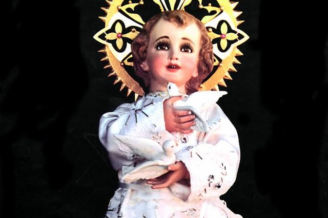 Santo niño de las palomitas