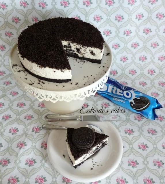 Receta de tarta de Oreo sin horno 4