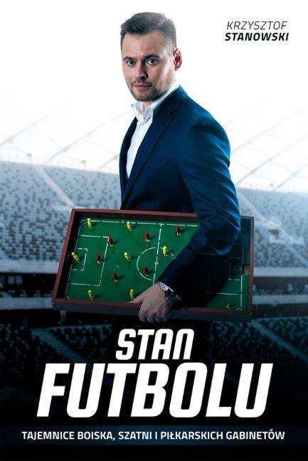 "Okładka książki ""Stan futbolu"""