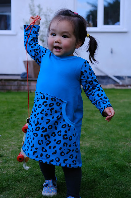 Ellie and Mac Be Independent Dress Leopard