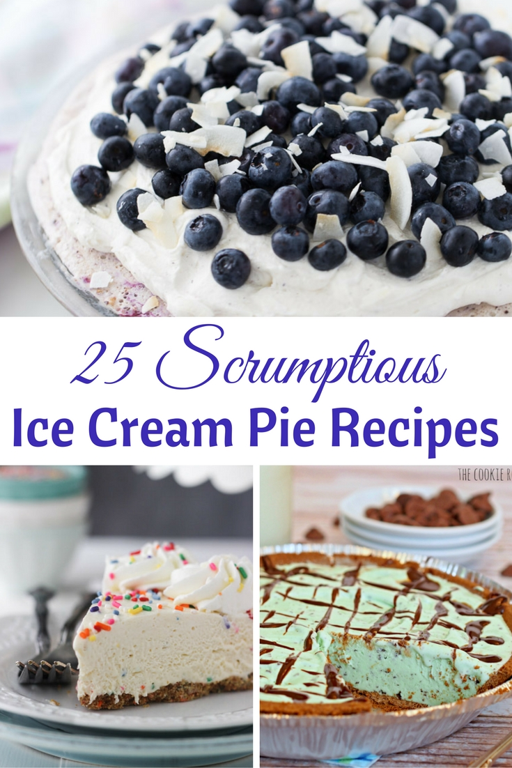 25 ice cream pie recipes