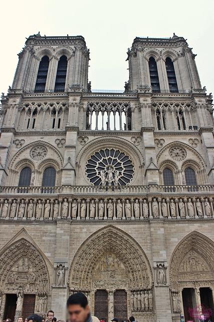 Paris - Île de La Cité - Notre Dame