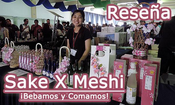 sake x meshi evento en expo reforma