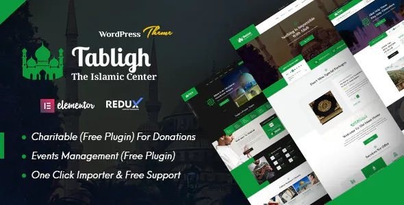 Best Islamic Institute and Mosque WordPress Theme