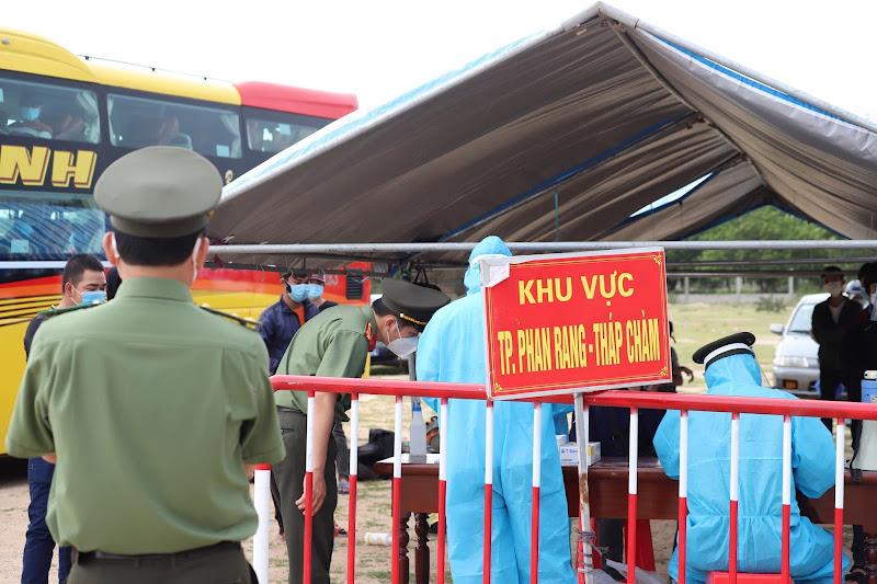Ngày 8-10, Ninh Thuận ghi nhận 6 ca mắc Covid-19 mới