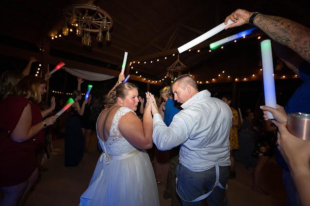 Bride and Groom dancing fun Magnolia Manor Wedding Photos by Stuart Wedding Photographer Heather Houghton Photography