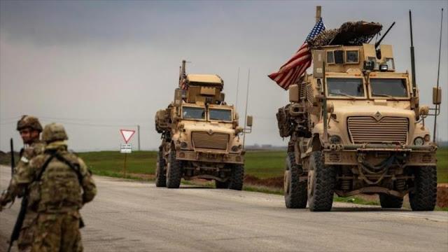 EEUU envía nuevo convoy militar a zona petrolera en Siria