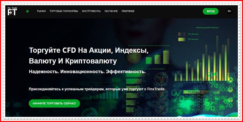 [Мошеннический сайт] finx-trade.com – Отзывы, развод? Компания FinxTrade мошенники!