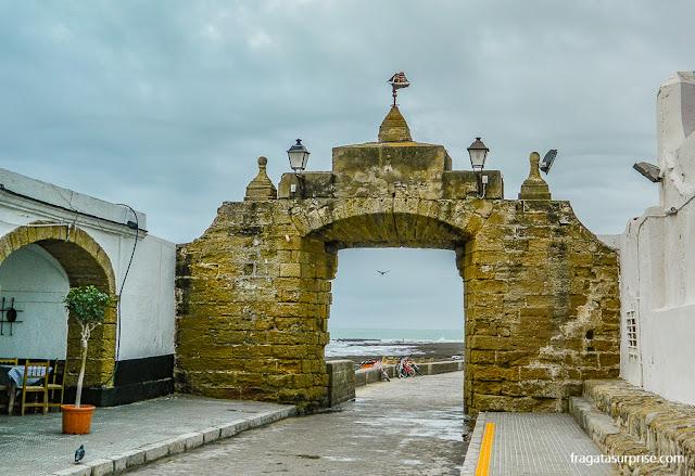 Entrada da Fortaleza de Santa Catalina, Cádiz