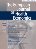Image of the front cover of European Journal of Health Economics