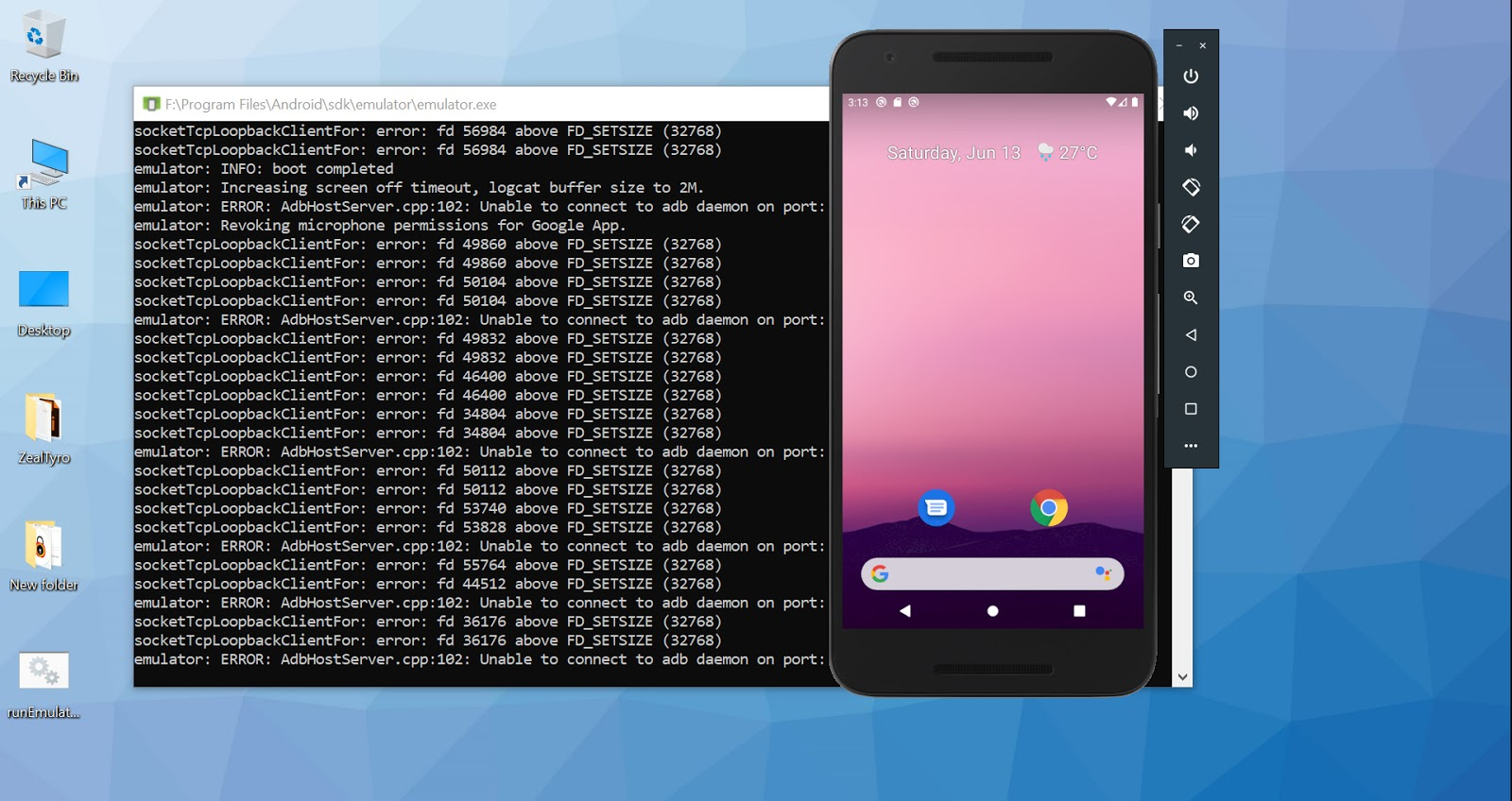 How To Start Android Emulator (AVD) Without Starting Android Studio