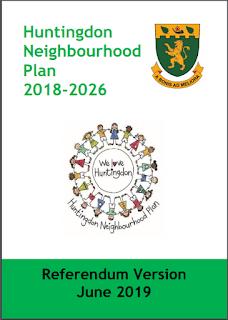 Cover image of Huntingdon Neighbourhood Plan