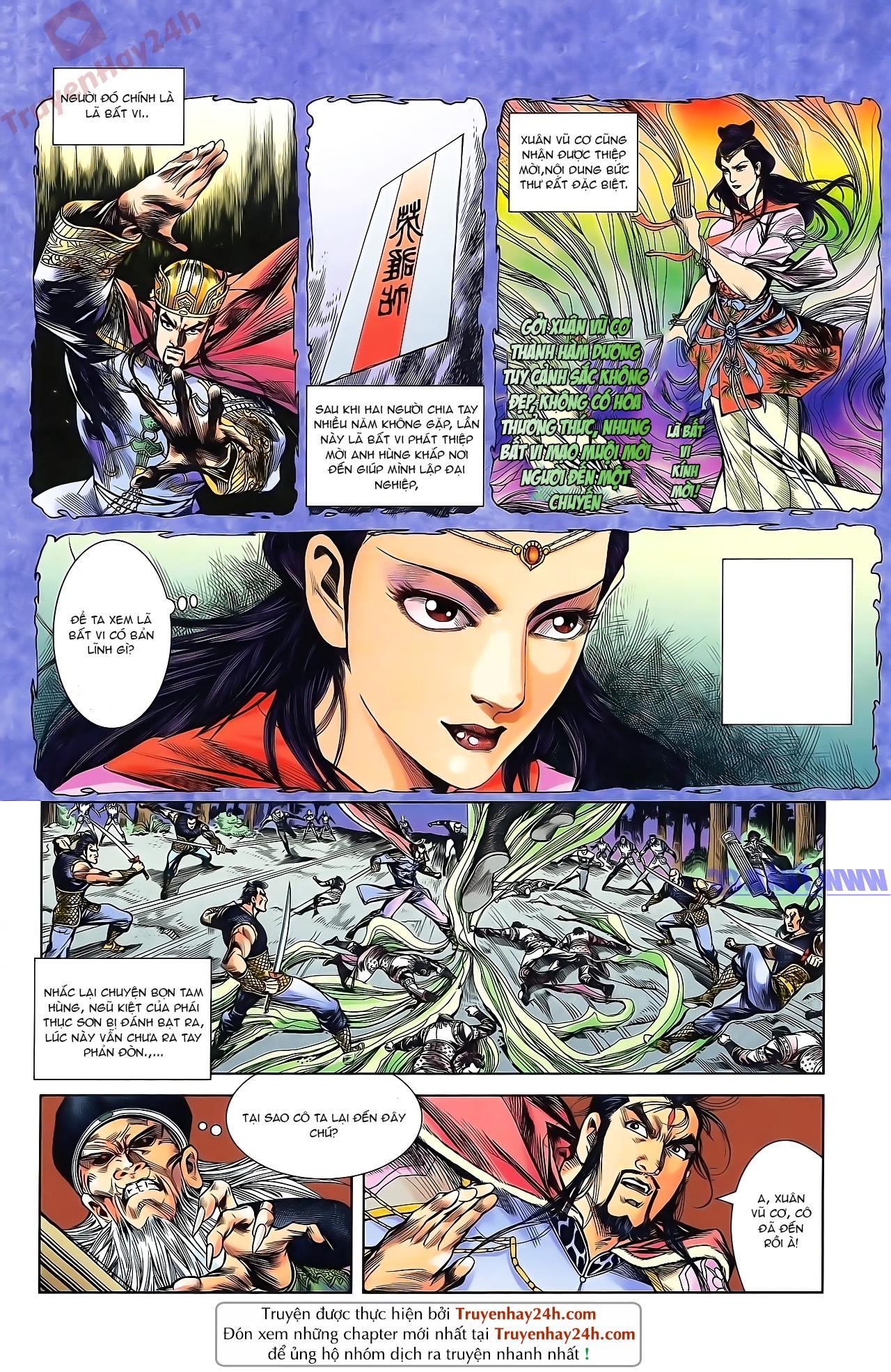 Tần Vương Doanh Chính chapter 46 trang 4