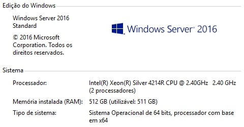 Referências de Consumo para Servidores Dual Xeon® Scalable 4214R