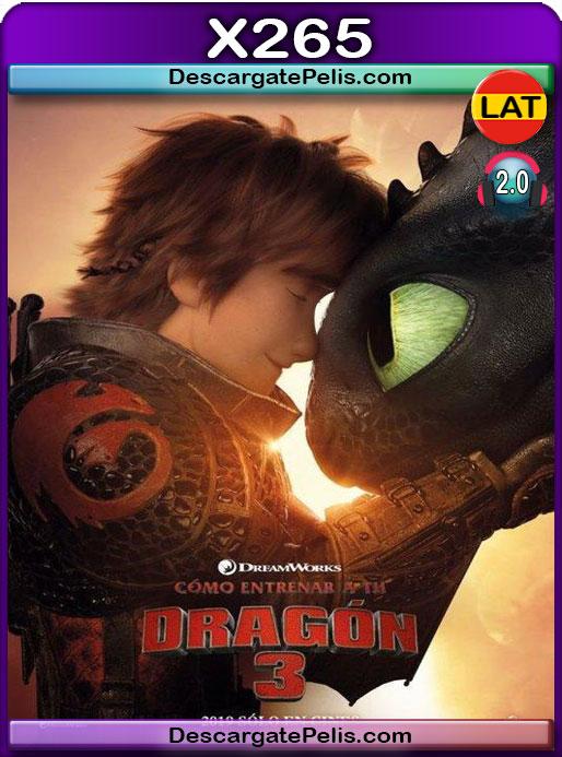 Cómo entrenar a tu dragón 3 (2019) 1080P X265 Latino – Ingles