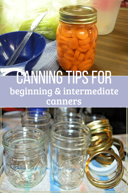 These canning tips and tricks will save you time while canning.