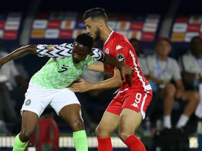 Nigeria 1-1 Tunisia: Iheanacho's Strike Not Enough As Super Eagles Hold Carthage Eagles