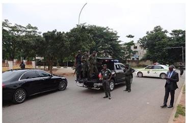 Security agents reportedly lay siege on Saraki, Ekweremadu's residences