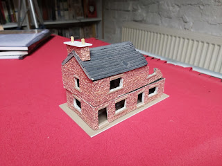 Ten minutes work and a chimney is added