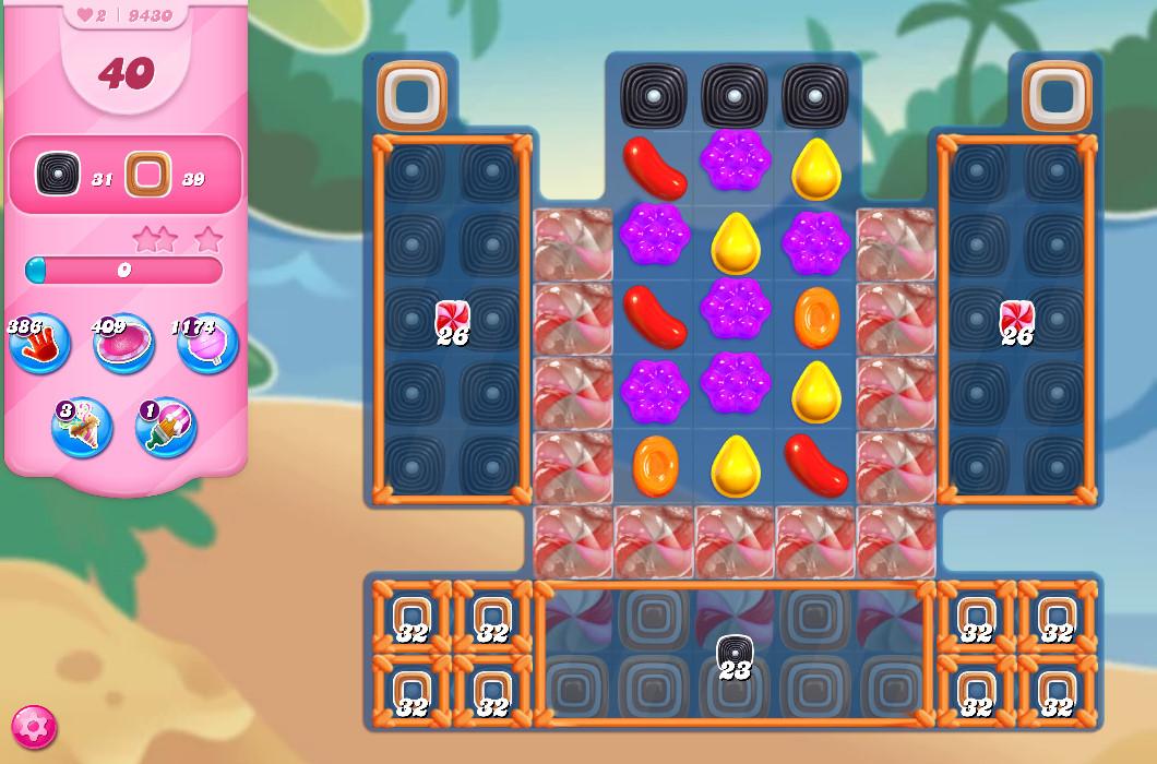 Candy Crush Saga level 9430