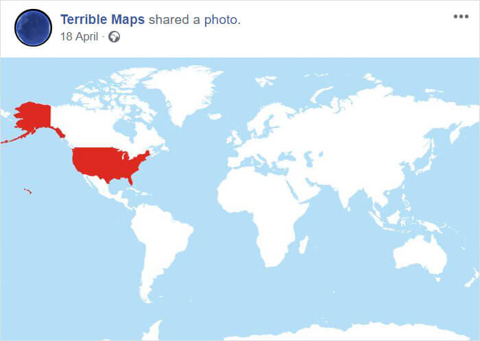 25 Fascinating Maps That Are Hilariously Wrong