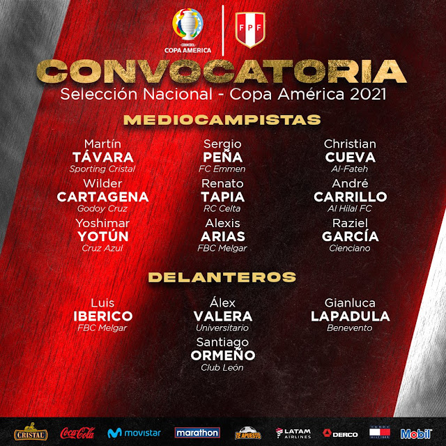 Peru para la copa america