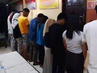 Ngamar Berduaan di Indekos, 6 Pasang Remaja Terjaring Razia Pekat Polres Pangkep
