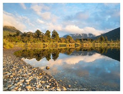 Golden Hour, Haast Pass, Lake Moeraki, Sunset, West Coast