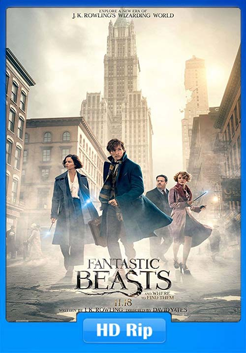 Fantastic Beasts and Where to Find Them 2016 720p BDRip | 480p 400MB | 200MB HEVC Poster
