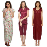 Clovia Women Night Suit Buy 1 Get 1 Free From Rs 499