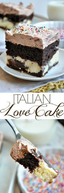 Easy Chocolate Italian Love Cake